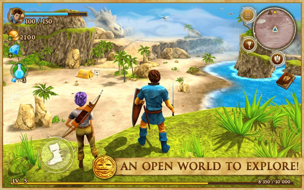 Beast Quest v 1.0.4 apk mod DINHEIRO + DIAMANTES + POÇÕES INFINITAS