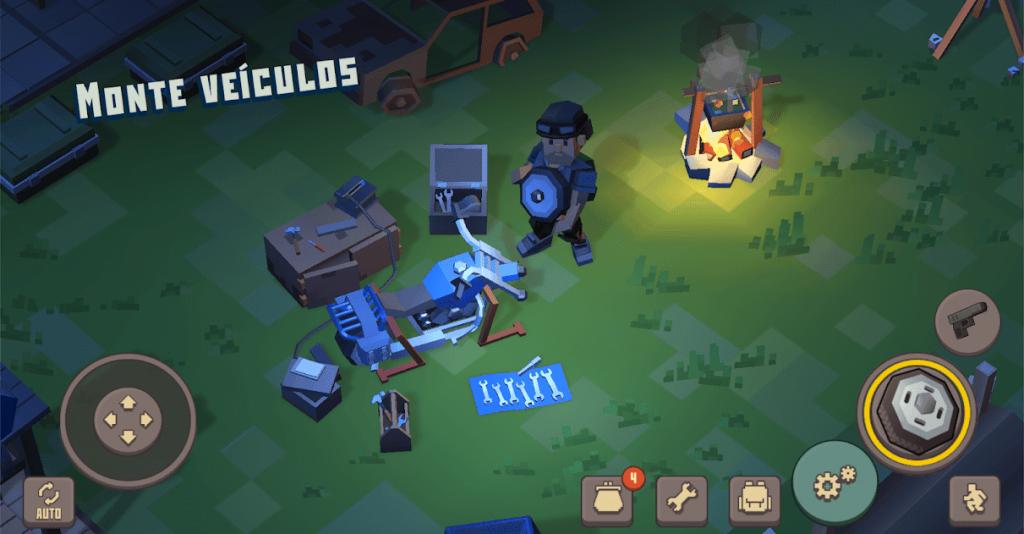 Cube Survival: LDoE v 1.0.4 apk mod CRAFT + DINHEIRO INFINITO