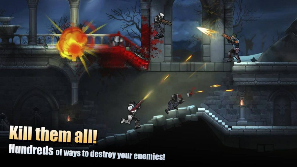 Flat Army: 2D Shooter v 3.8.2 apk