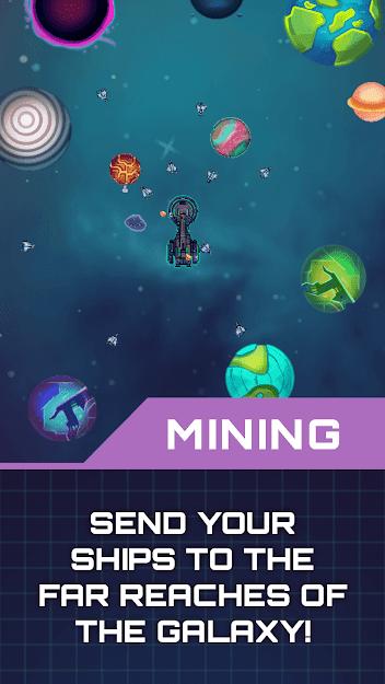 Idle Planet Miner v 1.3.2 apk mod COMPRAS GRÁTIS