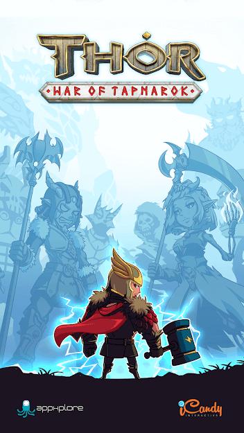 Thor : War of Tapnarok v 1.2.6 apk mod MELHORIAS GRATUITAS