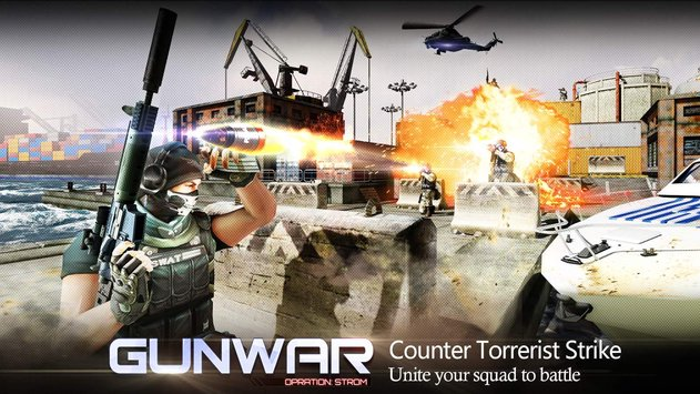 Gun War : Shooting Games v 2.8.1 apk mod DINHEIRO + BONUS INFINITO