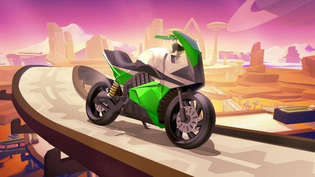 Gravity Rider Zero v 1.36.1 apk mod DESBLOQUEADO