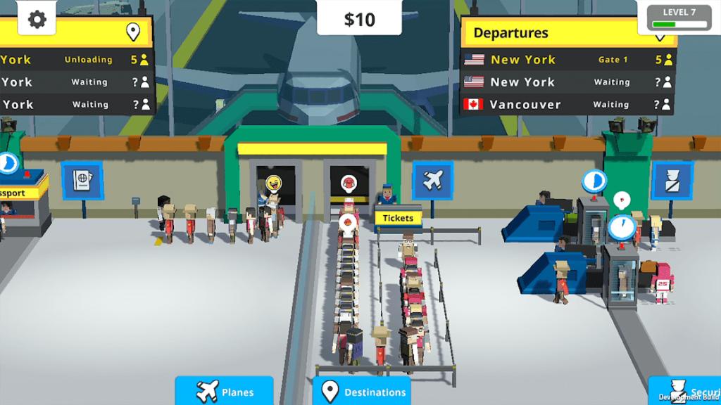 Idle Tap Airport v 1.11.0 apk mod COMPRAS GRÁTIS