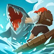 Epic Raft: Fighting Zombie Shark Survival