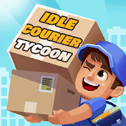 Idle Courier Tycoon - 3D Business Manager APK MOD Dinheiro Infinito